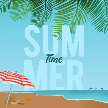 summer sale design template with beach panorama , Poster, Summer, Background Background image