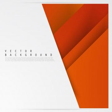 वेक्टर चमकदार नारंगी रंग की पृष्ठभूमि के साथ एक अमूर्त डिजाइन के लिए कागज सार अमूर्त पृष्ठभूमि पृष्ठभूमि छवि