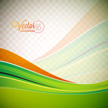 abstract vector background with green waves , Background, Light, Abstract Background image