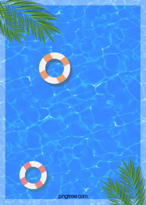 background of a cool summer swimming pool , Leaf, Summer, Plant Background image