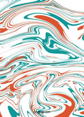 o fluxo líquido de cor de fundo vermelho e azul , Pequeno Fresco, Abstrato, O Efeito Imagem de Fundo
