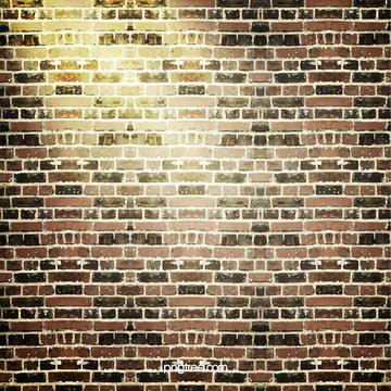 벽돌담 배경 , 벽면, 네모난 벽돌, 시멘트 배경 이미지