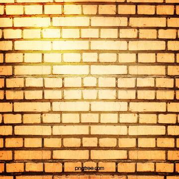 पीले रंग की सीमेंट ईंट की दीवार पृष्ठभूमि , दीवार, ऊपर ईंट, सीमेंट पृष्ठभूमि छवि