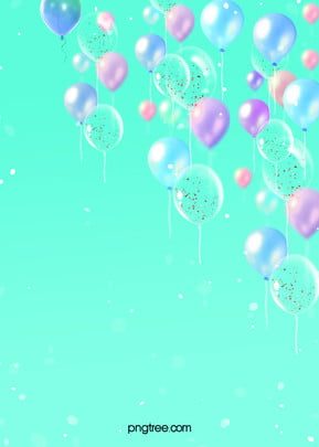 Balloon Scrap Background for Color Parties , Light Spot, Celebrating, Color Background image