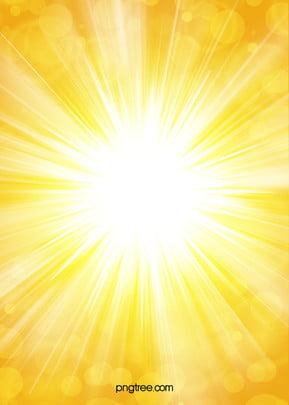夏季明亮耀眼太陽光背景 , 光斑, 光暈, 夏季 背景圖片