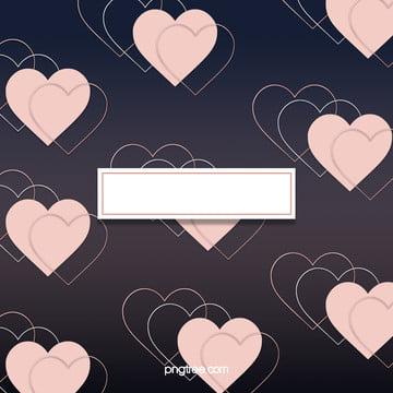 a sobreposição de figuras geométricas em ouro rosa de amor creative background , A Geometria, Creative, O Amor Imagem de fundo