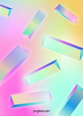Sáng tạo màu sắc cầu vồng ba lăng kính Ba Lăng Kính Hình Nền