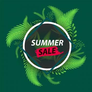 暗い背景と赤いブラシスプラッシュテキストの背景にクリエイティブ夏の葉新鮮な熱帯の葉のフレーム , 抄録, 広告, 広告 背景画像
