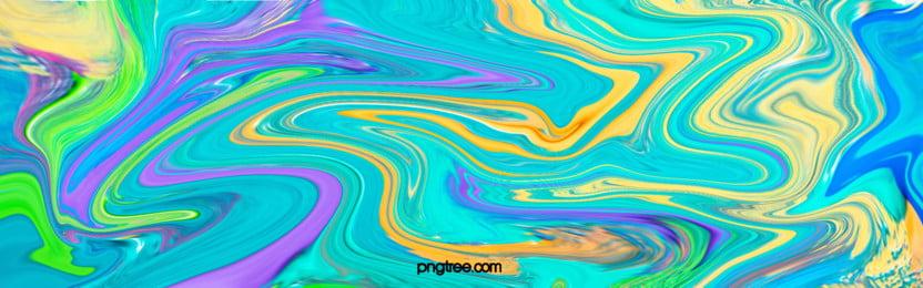 фон течения масла, масляная живопись, жидкость, асимптотическое изменение Фоновый рисунок