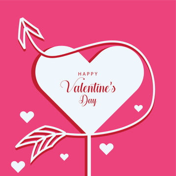 lovely pink valentines day greeting design , Love, Illustration, Happy Background image