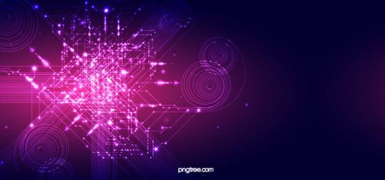 neon effect information technology background, Technologies De L Information, Circuit électroluminescent, Commerce Image d'arrière-plan
