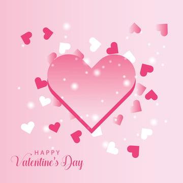 pink love design for valentines day , Love, Illustration, Happy Background image