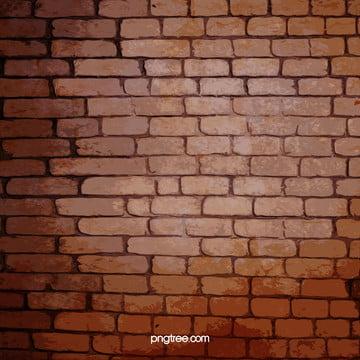 red brick wall background , Parede De, Tijolo, Cimento Imagem de fundo