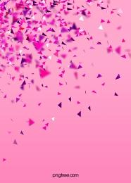 簡約彩色派對紙屑背景 , 三角紙屑, 五彩紙屑, 慶祝 背景圖片