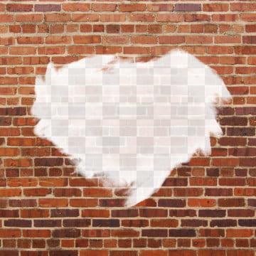 벽에 구멍 벽돌 무늬 , 배경, 벽돌, 공 배경 이미지