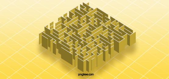 3 डी आभासी भूलभुलैया के व्यापार पृष्ठभूमि, 3 डी भूलभुलैया, 3 डी भूलभुलैया पृष्ठभूमि, तीन आयामी भूलभुलैया पृष्ठभूमि छवि