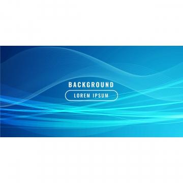 抽象藍色波浪式商務風格背景 , 摘要, 藝術, 背景 背景圖片
