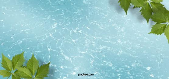 nước với cây chéo nền tả thực Lá Cây Trên Hình Nền