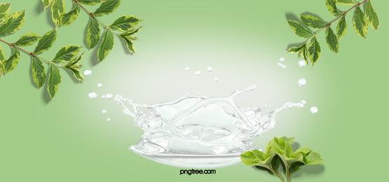 nước với cây chéo nền tả thực Lá Cây Bắn Hình Nền