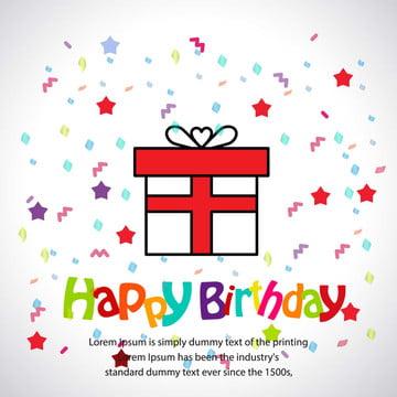 생일 축하 삽화 , 예술, 배경, 깃발 배경 이미지