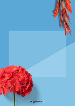 cây màu nền xanh vào mùa hè tả thực , Tả Thực, Tông Màu, Cây Ảnh nền