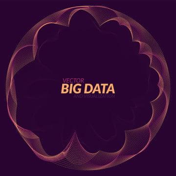 ビッグデータの可視化未来インフォグラフィック情報 , 抄録, アート, 背景 背景画像