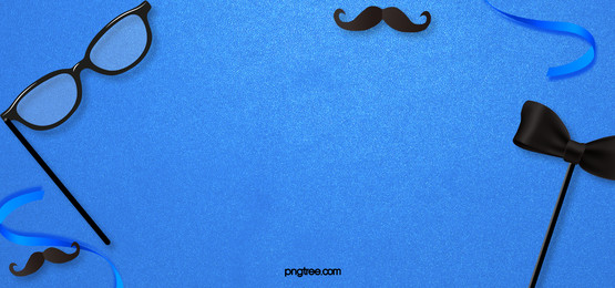 blue creative fathers day happy background, Ribbon, Creative, Fantasy Background image