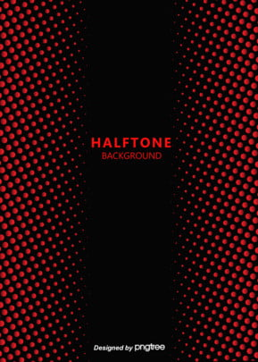 halftone style red gradient background , Halftone Gradient, Wave Point, Red Background image