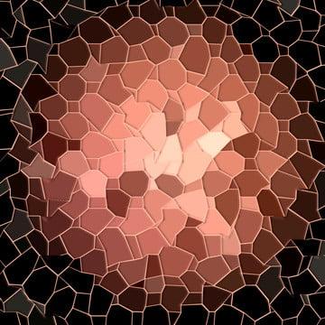 馬賽克桌面黑玫瑰金 , 背景, 黑色, 鑲嵌圖 背景圖片