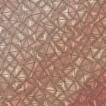 lor rose triangle noir mosaic contexte , Contexte, Black, Mosaic Contexte Image d'arrière-plan
