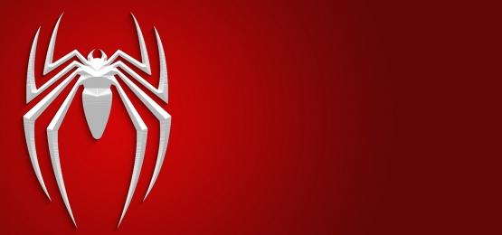 スパイダーマンロゴの背景, 抄録, 背景, 赤 背景画像