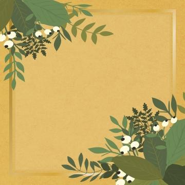 금 상자 잎 , 경계, 컬러, 꽃 배경 이미지