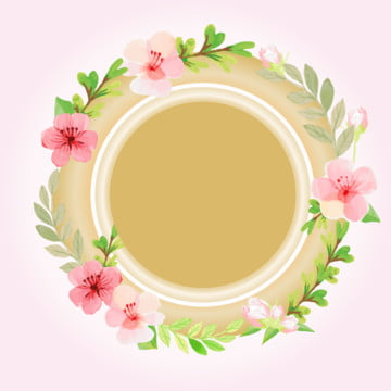 粉紅金色花架 , 邊界, 豐富多彩的, 花的 背景圖庫