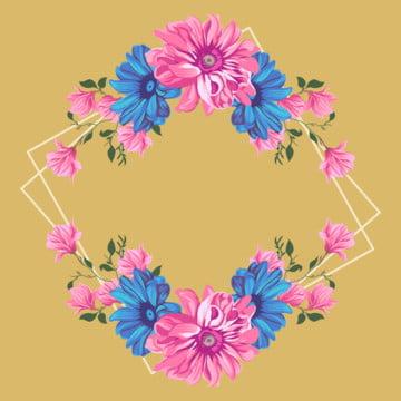 자색  김 틀 , 아름다운 꽃, 다채로운 틀, 김 배경 이미지