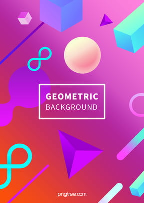 Geometric Background Of Color Gradient Stereo Space, Triangle, Light, Geometric, Background image