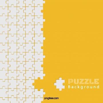 Краткий фон модной желтой мозаики , плоская полка, компакт - диски, головоломка Фоновый рисунок