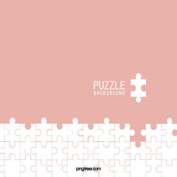 純色簡約殘缺幾何粉色拼圖背景 , 樂高, 幾何, 拼圖 背景圖片