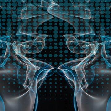 fundo de fumo azul sci fi , Abstract, Fundo, Azul Imagem de fundo