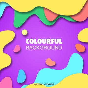 カラー波状曲線幾何学的創造的抽象的背景 , 幾何学, アイデア, カラー 背景画像