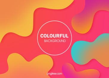 カラー波状曲線の抽象的な背景, カラー, 抽象的, 曲線 背景画像