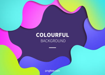 カラー幾何学的波状曲線の抽象的な背景, 幾何学, カラー, 抽象的 背景画像
