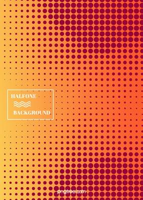 ハーフトーンスタイルのグラデーション背景 , アイデア, ハーフトーン, 円点 背景画像