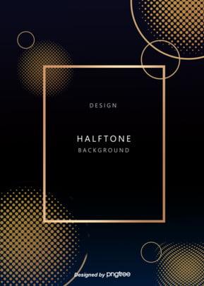 ハーフトーンスタイルの黄色グラデーションの背景 , ハーフトーンスタイル, 抽象的なスタイル, 濃い色の背景 背景画像