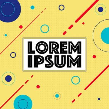 幾何学的形状とメンフィススタイルのカラフルなテンプレート トレンディなメンフィスファッション , 80年代, 抄録, アート 背景画像