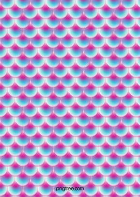 藍紫色立體漸變發光魚鱗紋理背景 , 發光, 圖案, 平鋪 背景圖片
