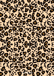 leopard fashion texture hand painted vector background , Flat, Hand Painted, Illustration Background image