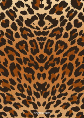 leopard print gradual hand painted fashion background , Flat, Fashion, Gradient Background image