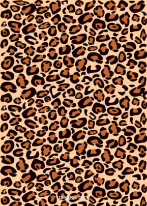 leopard yellow flat hand painted irregular texture background , Flat, Hand Painted, Fashion Background image
