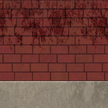 fundo de fissura da parede vermelha de barcelona , Fundo, Tijolo, Parede De Tijolo Imagem de fundo