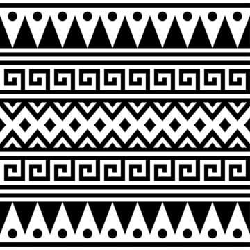 エスニックシームレスパターンベクトルアステカパターン部族パターンモチーフベクトル , 抄録, アメリカン, アート 背景画像